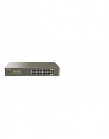 TENDA 16 Port Gigabit PoE Switch (TEG1116P-16-150W)